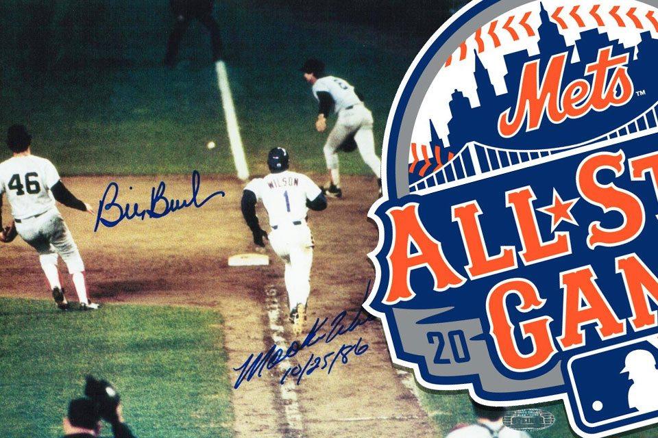 Mookie Wilson and Bill Buckner Signing