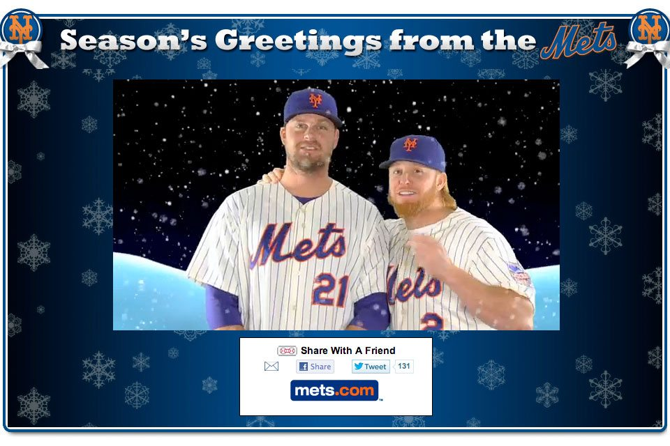 Season's Greetings from the Mets