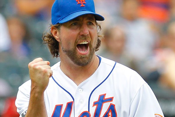 Dickey's Knuckler through the Eye of a Catcher
