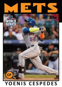 2015 World Series Yoenis Cespedes