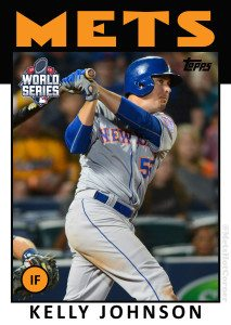 2015 World Series Kelly Johnson